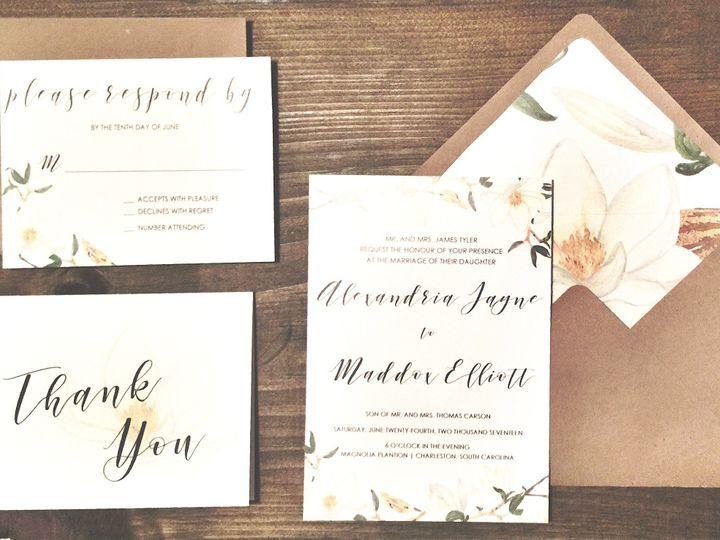 Tmx 1491028507572 Img4064 Lumberton, North Carolina wedding invitation