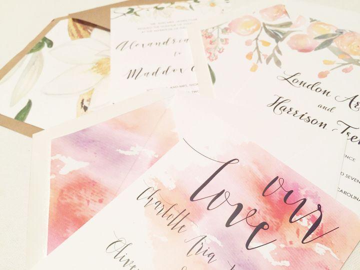 Tmx 1491028519344 Img4065 Lumberton, North Carolina wedding invitation