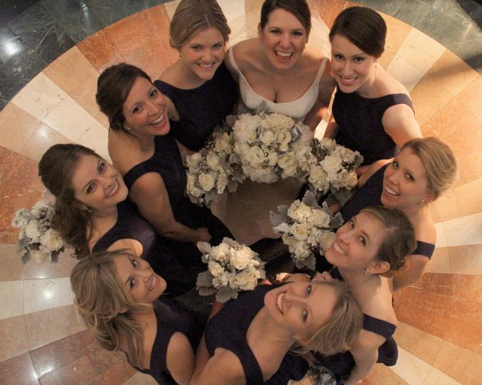 Wedding party services