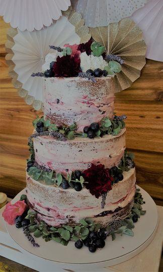 """""""Lingerie"""" cake"""