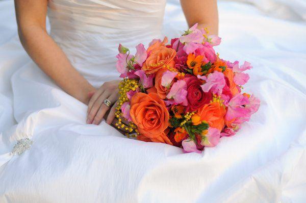victorian vibrant bouquet