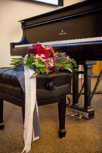 Grand piano onsite