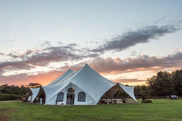 Tmx 1518208914 4a22d201d8e57ad1 1518208913 5a907e4494938829 1518208909075 4 Tent At Sunset   A Asheville, NC wedding venue