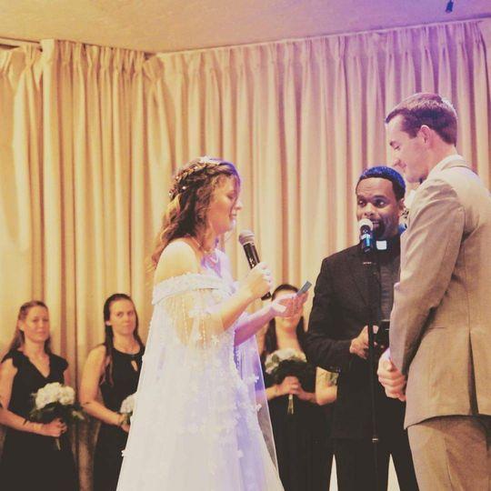 American German Club Wedding