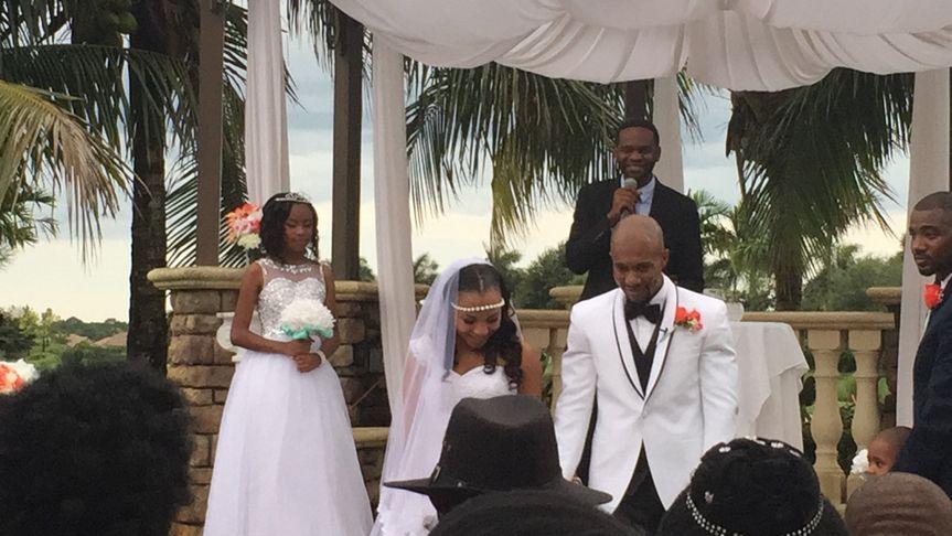 Naples, FL outdoor wedding