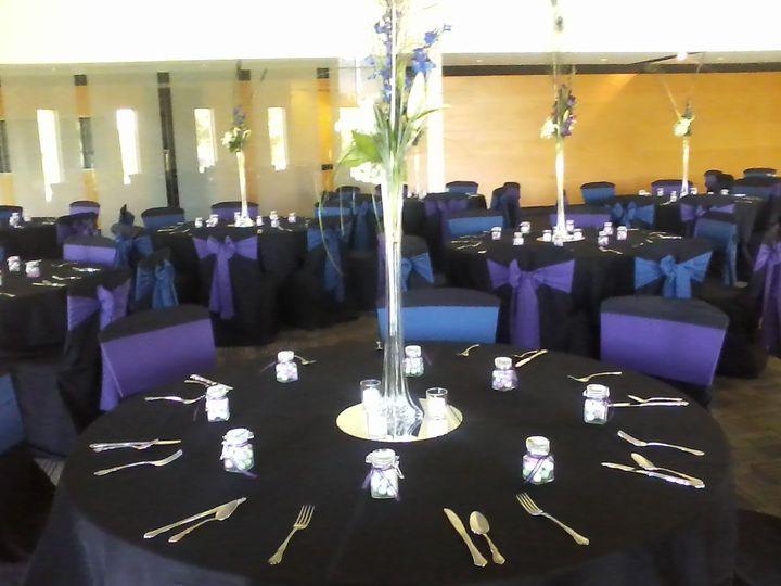 Tmx 1421779092684 Black Purple And Navy Wedding 2 Ames, Iowa wedding rental