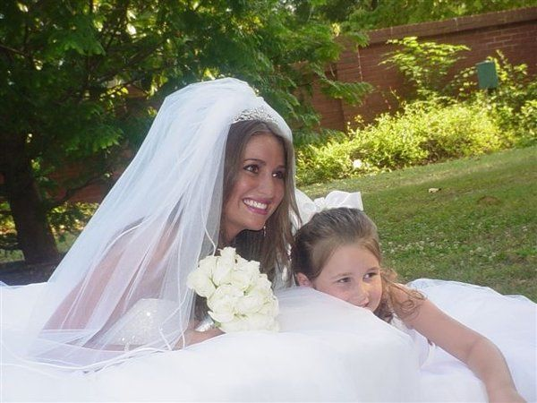 Bride & her daughter