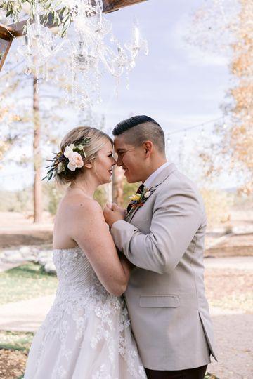 Bride + Groom Portrait
