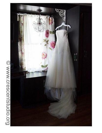 Darlenes Dress hanging in The Summer Wind Room