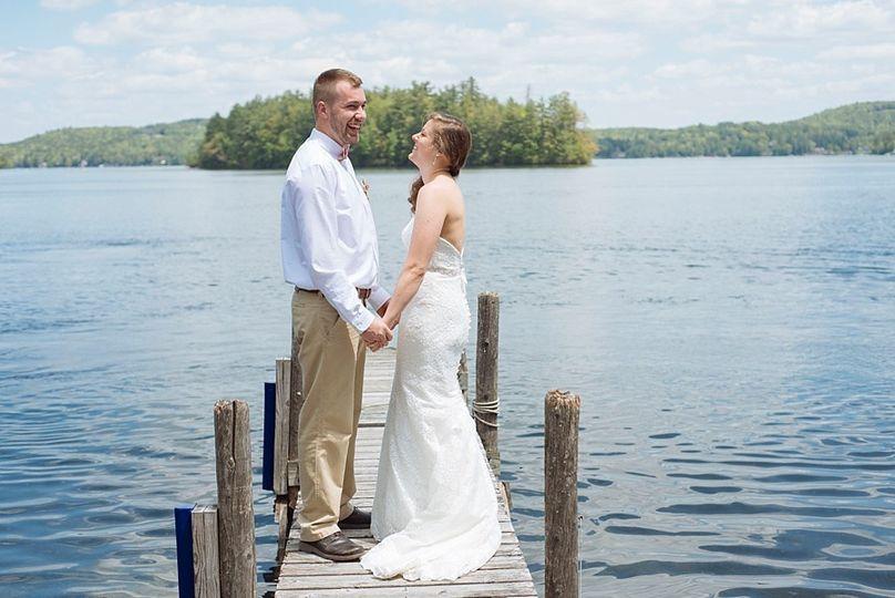 Lakeside NH Wedding