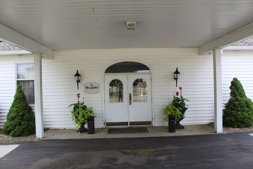 Front Entrance for Meadows