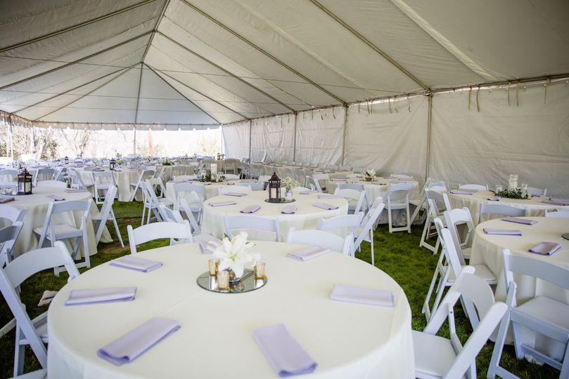 Event tent option