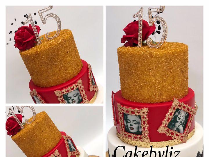 Tmx Cake Oro 15 Anos 51 1477815 1567976336 Kissimmee, FL wedding cake