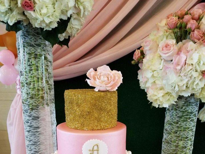 Tmx Cake Oro Y Pink 51 1477815 1567976339 Kissimmee, FL wedding cake