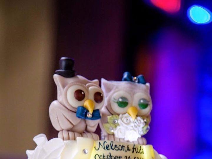 Tmx Cake Wedding Owls 51 1477815 1567976366 Kissimmee, FL wedding cake
