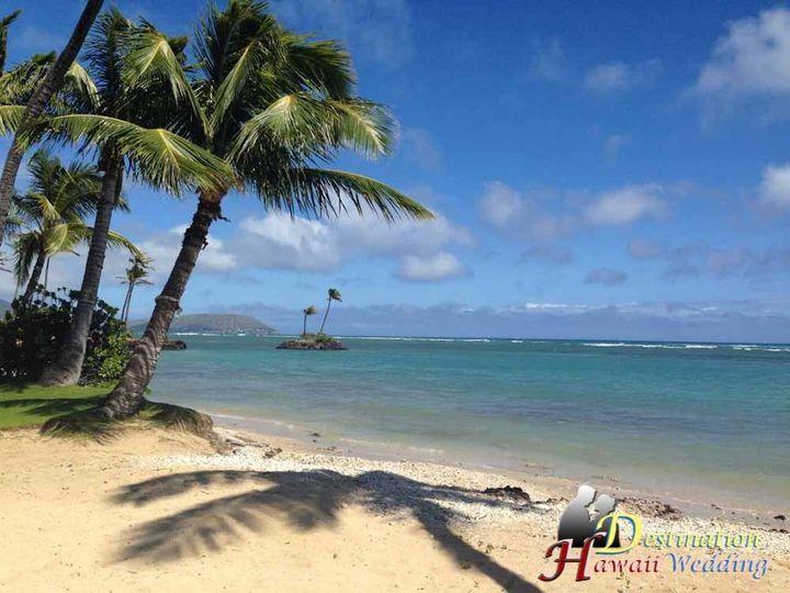 Kahala Beach Wedding Venue.  Our favorite beach destination wedding in Hawaii.  It's also called...