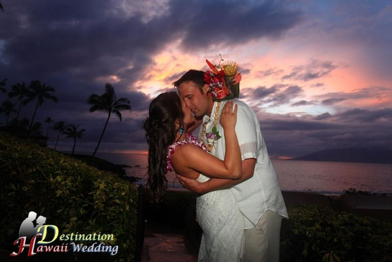 Our favorite wedding site on Maui.  Wailea Beach is one of the best beach destination wedding venues...