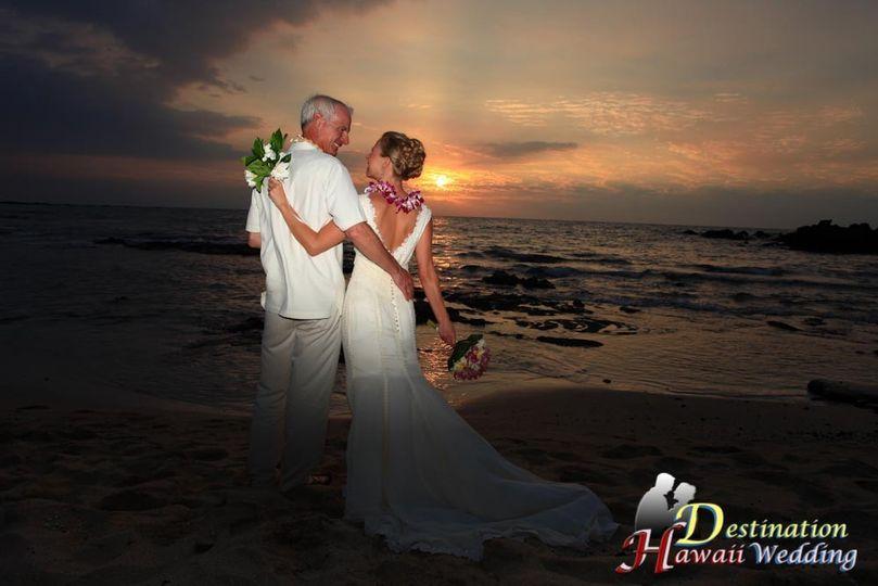 Waimanalo Bay Beach Setup.  Waimanalo is located on Oahu, Hawaii.  It's also called the Angel's Bay....