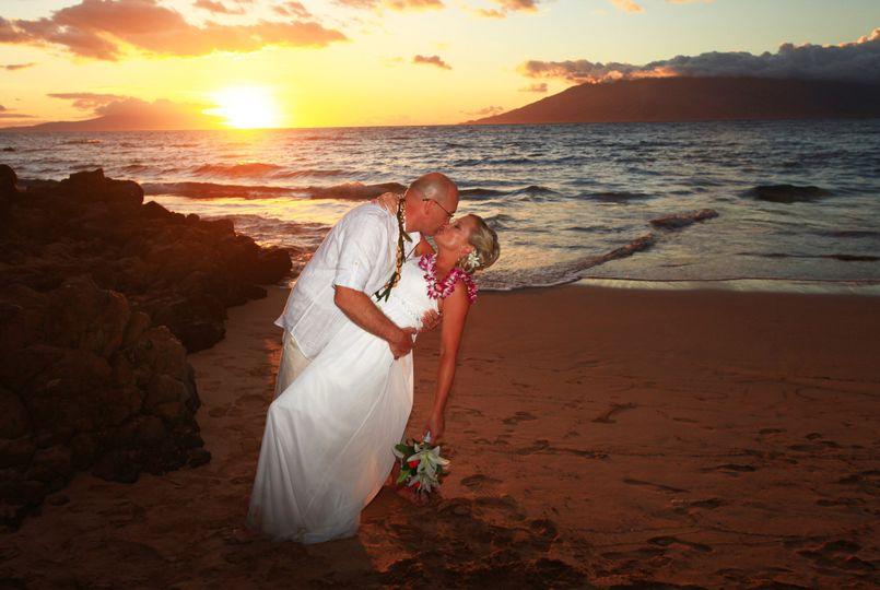 Waialae Beach, Kahala, Honolulu, Hawaii.