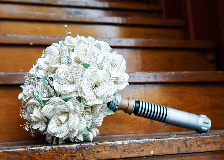 Nerdy bouquet