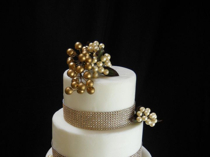 Tmx 1386036161801 Cake4 Orlando, Florida wedding cake