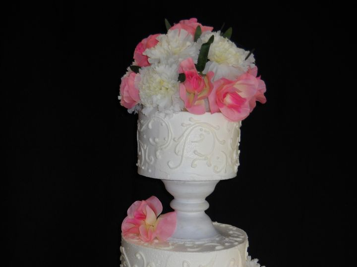 Tmx 1386036464543 Cake2 Orlando, Florida wedding cake