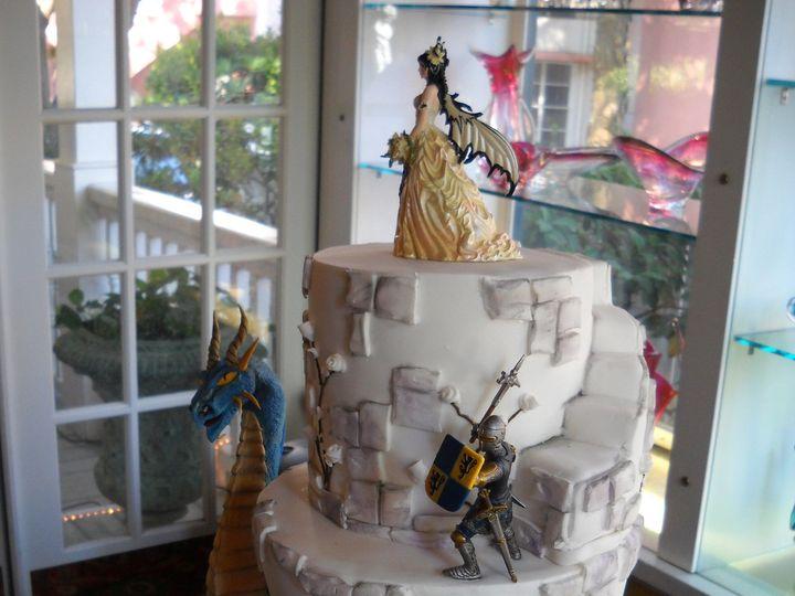 Tmx 1386036509758 Cake1 Orlando, Florida wedding cake