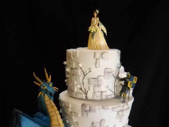 Tmx 1386036554867 Cake1 Orlando, Florida wedding cake
