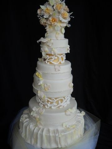 Tmx 1386036574433 Cake1 Orlando, Florida wedding cake