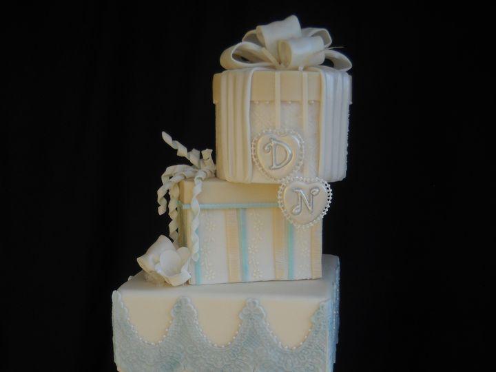 Tmx 1386036786368 Cake1 Orlando, Florida wedding cake
