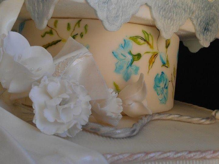 Tmx 1386036804706 Cake2 Orlando, Florida wedding cake
