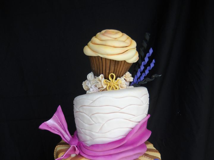 Tmx 1386037059191 Cake5 Orlando, FL wedding cake