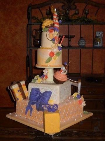 Tmx 1386037108249 Cake Orlando, Florida wedding cake