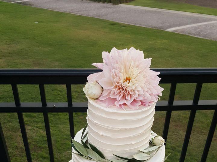 Tmx 1538662125 3c4a04738cc0d410 1538662123 F632e0fca8f664b3 1538662130027 17 Dahlia Orlando, Florida wedding cake