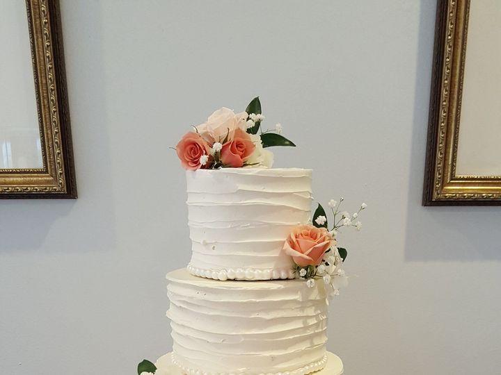 Tmx 1538662189 9b1a85c4cea8299b 1538662188 Effde7e213ec4910 1538662194146 29 Jessica S Orlando, Florida wedding cake