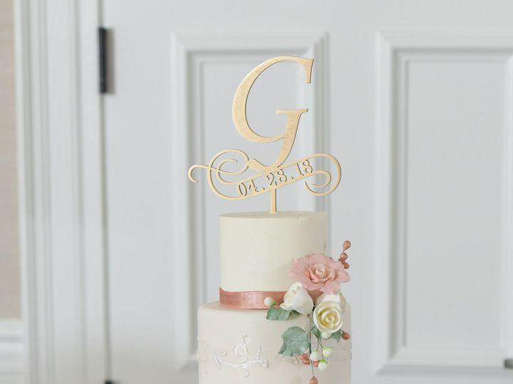 Tmx 1538663100 A94f2f581f94c324 1538663098 5289cc389c85f604 1538663104479 76 Stacey Orlando, FL wedding cake