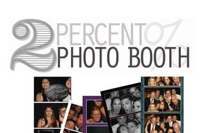 2 Percent Photo Booth