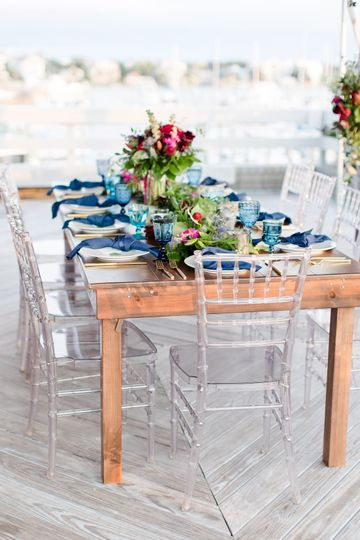 Guests tables