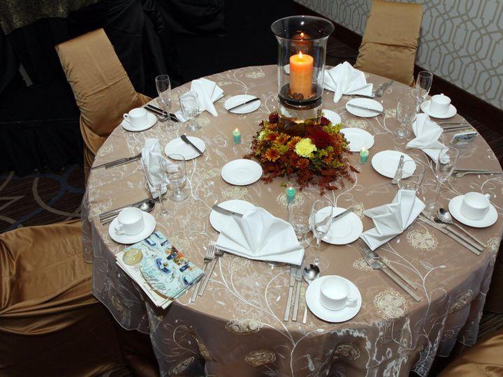 Tmx 1418310462356 Tan Table Setting Coraopolis, PA wedding venue