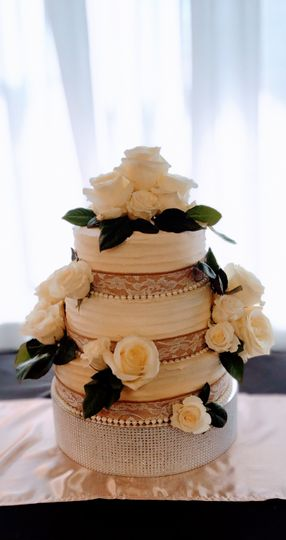 Simple and classic cake