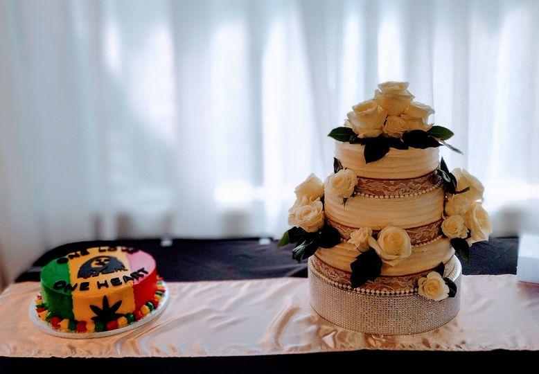 Wedding and Groom's Cake