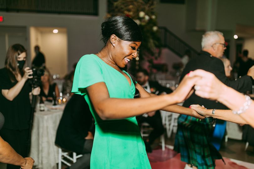 Owning the dance floor