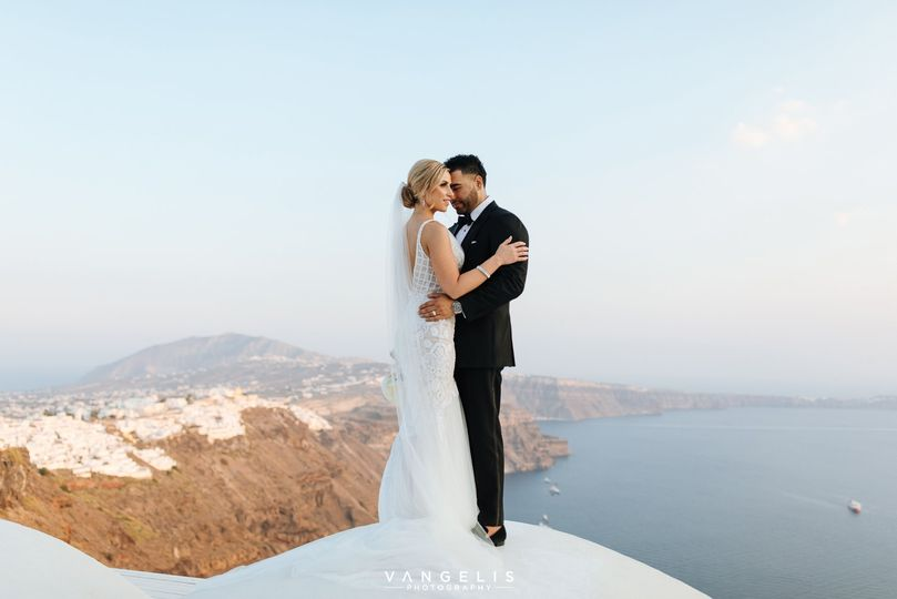 Wedding portrait - Photo: Vangelis Photography