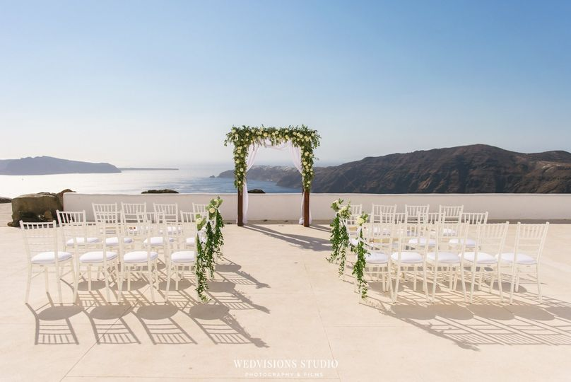 Ceremony site - Photo: Vangelis Photography