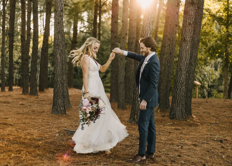 Woodsy Charleston Wedding