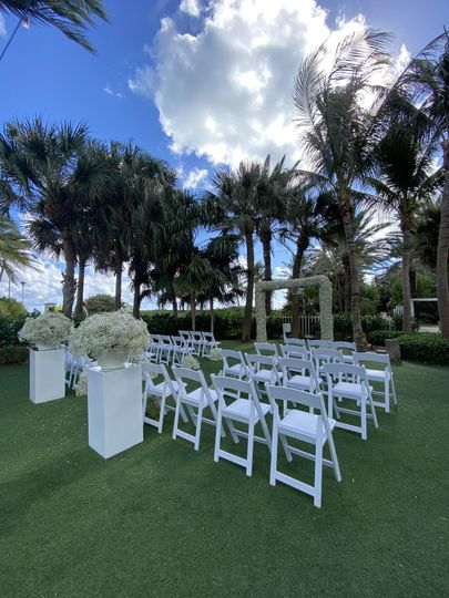 Ceremony in Oasis