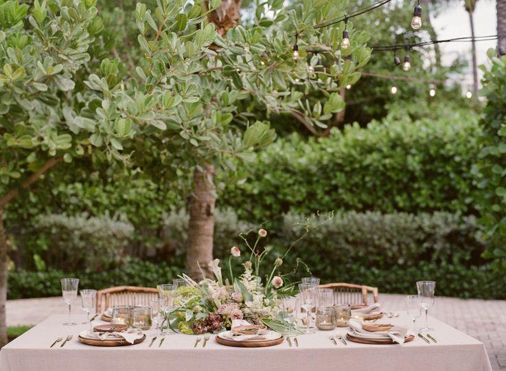 Oasis Garden setup