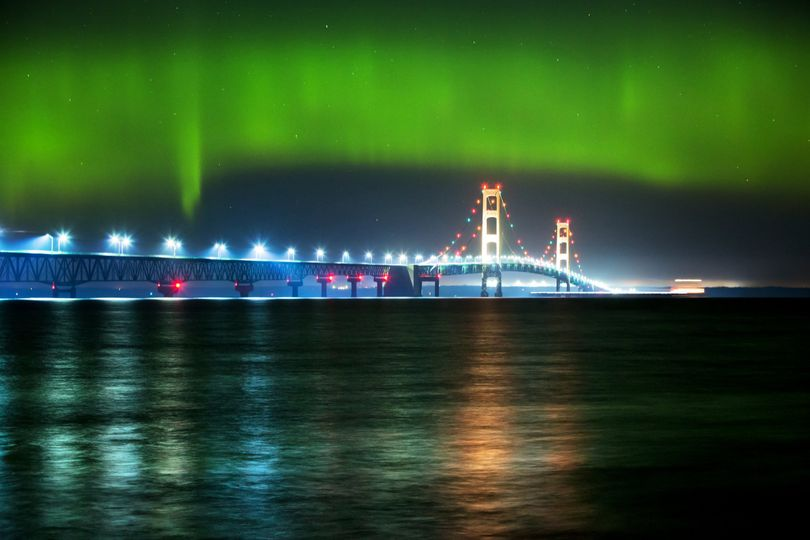 Northern Lights, Mackinac