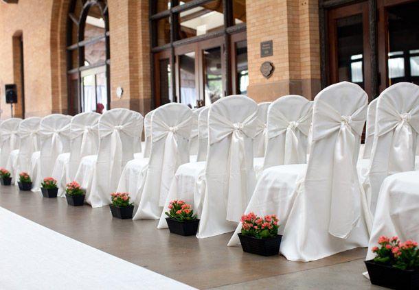 Wedding ceremony seats
