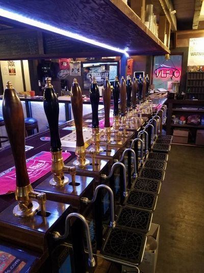 A unique location offering the most British Beer Engines (Beer taps) in one location